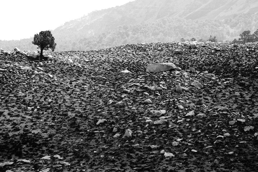 Paisaje marciano en la tierra