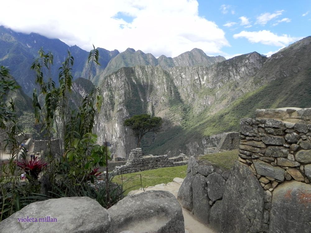 paisajes del machu pichu