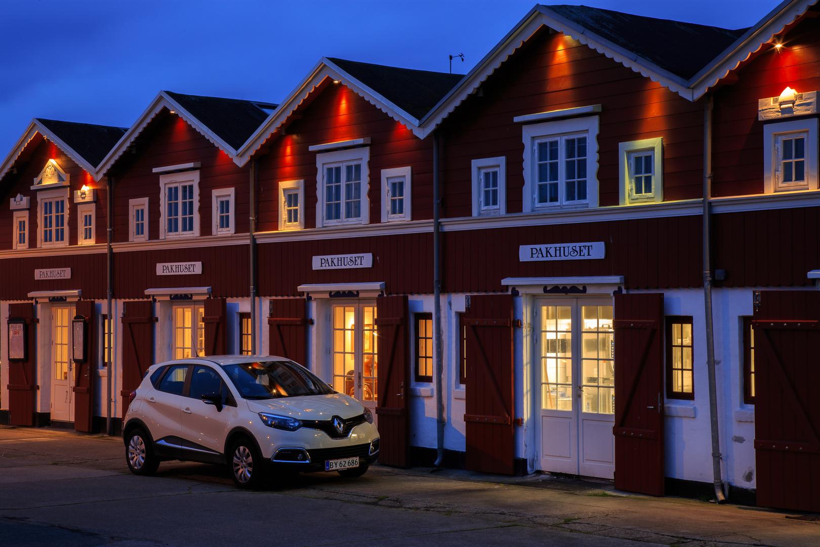 Pakhuset im Hafen von Skagen