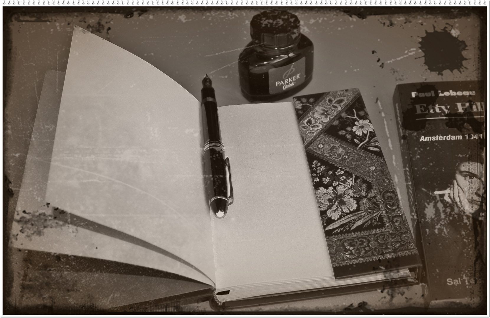 palabras escritas en silencio