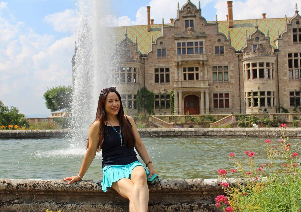 Palace with fontane