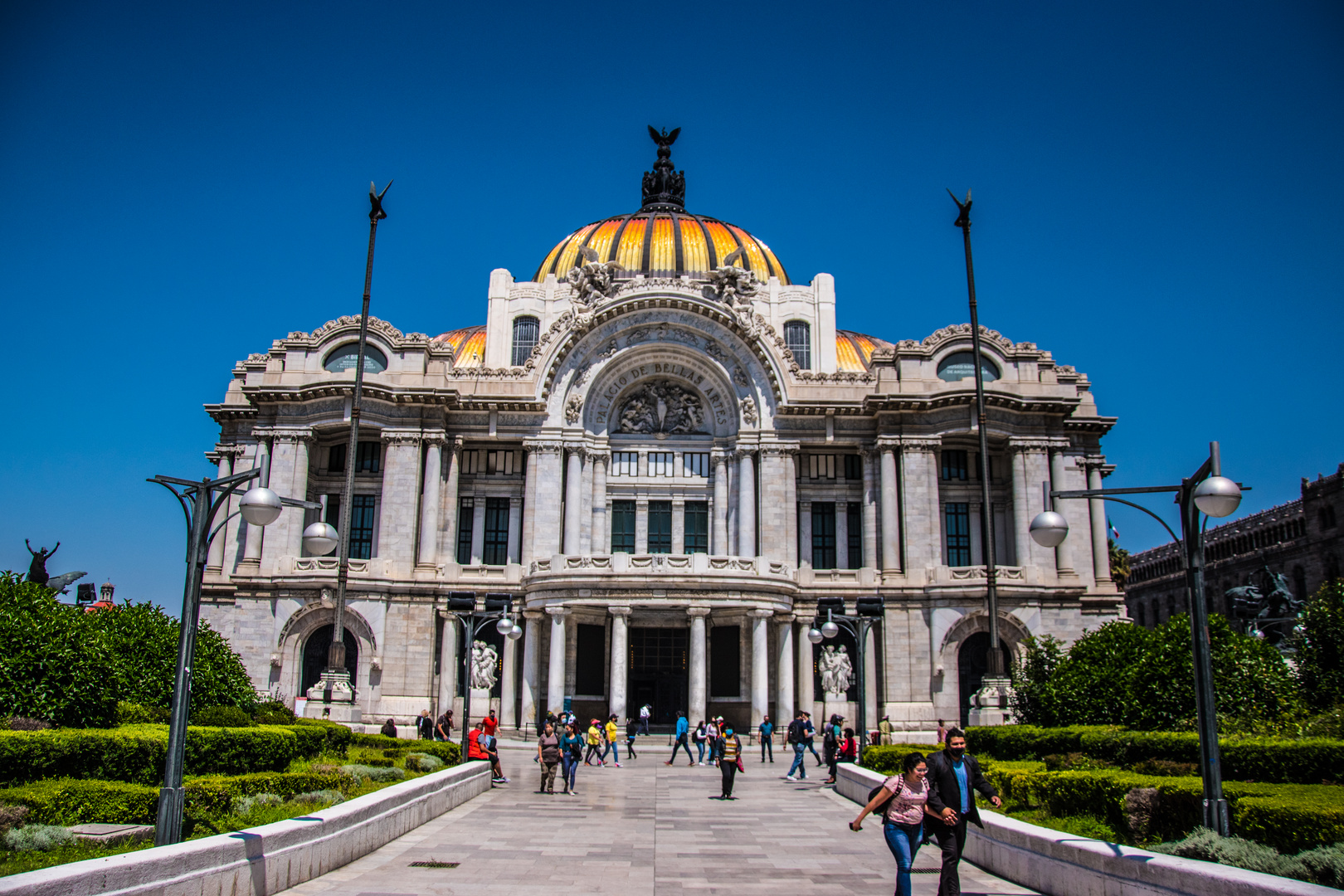 Palacio de Bellas Artes, Mexiko-Stadt