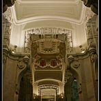 Palacio de Cibeles IV (detalle de los pasillos laterales de la 1ª planta)