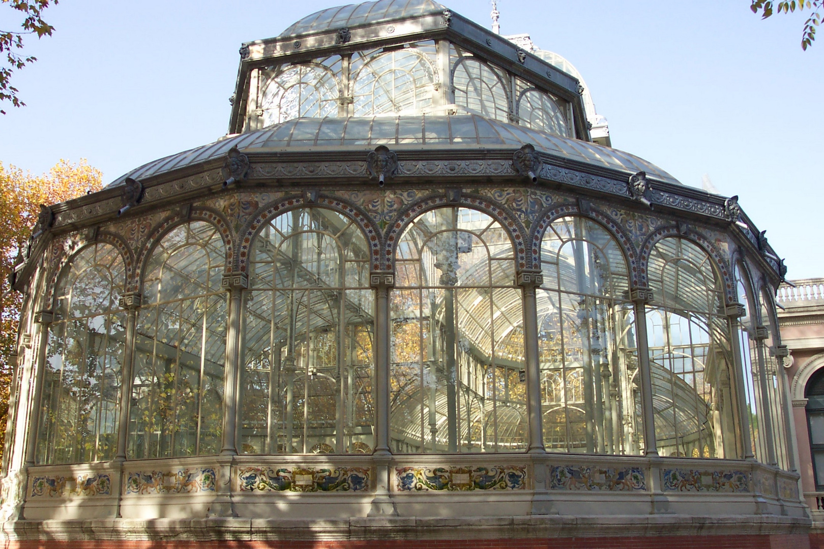 Palacio de Cristal (detalle)