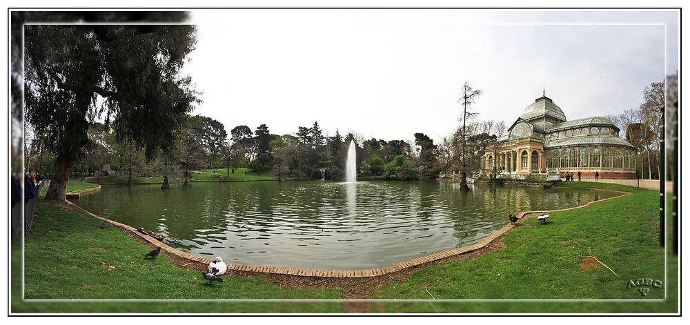 Palacio de Cristal (El Retiro Madrid) Panoramica (5 Img) GKM2