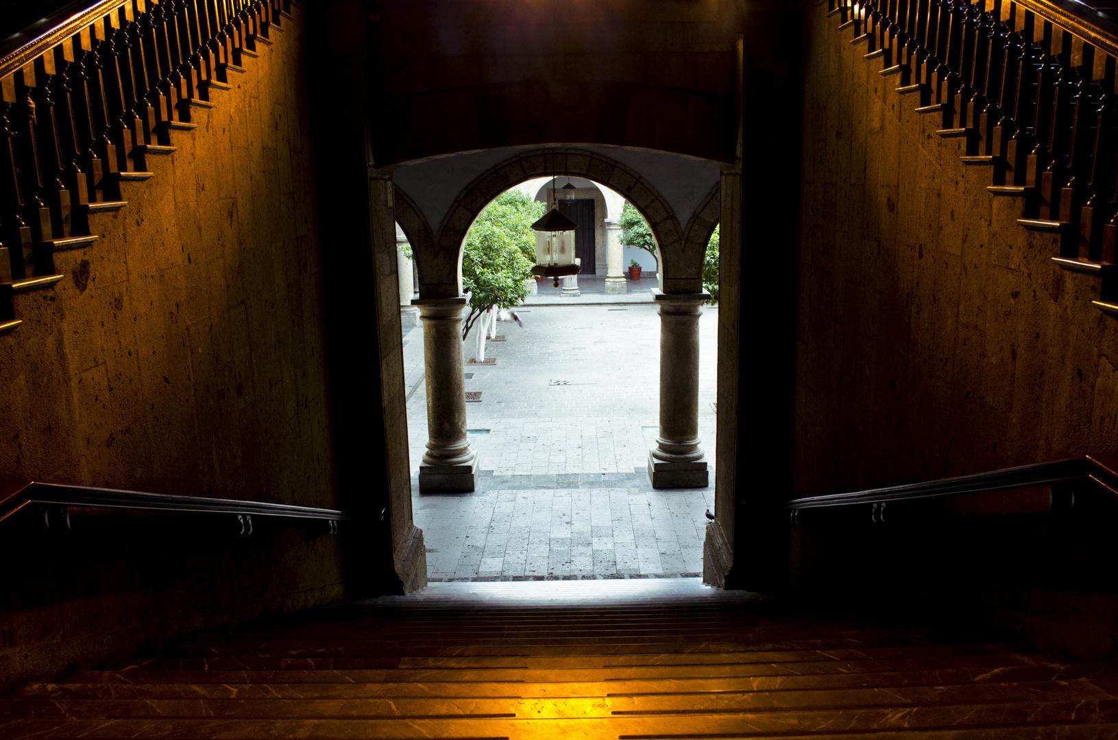 Palacio de Gobierno, Guadalajara, Jalisco.