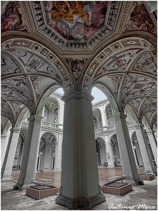 Palacio del Marqués de Santa Cruz. (Don Alvaro de Bazán)