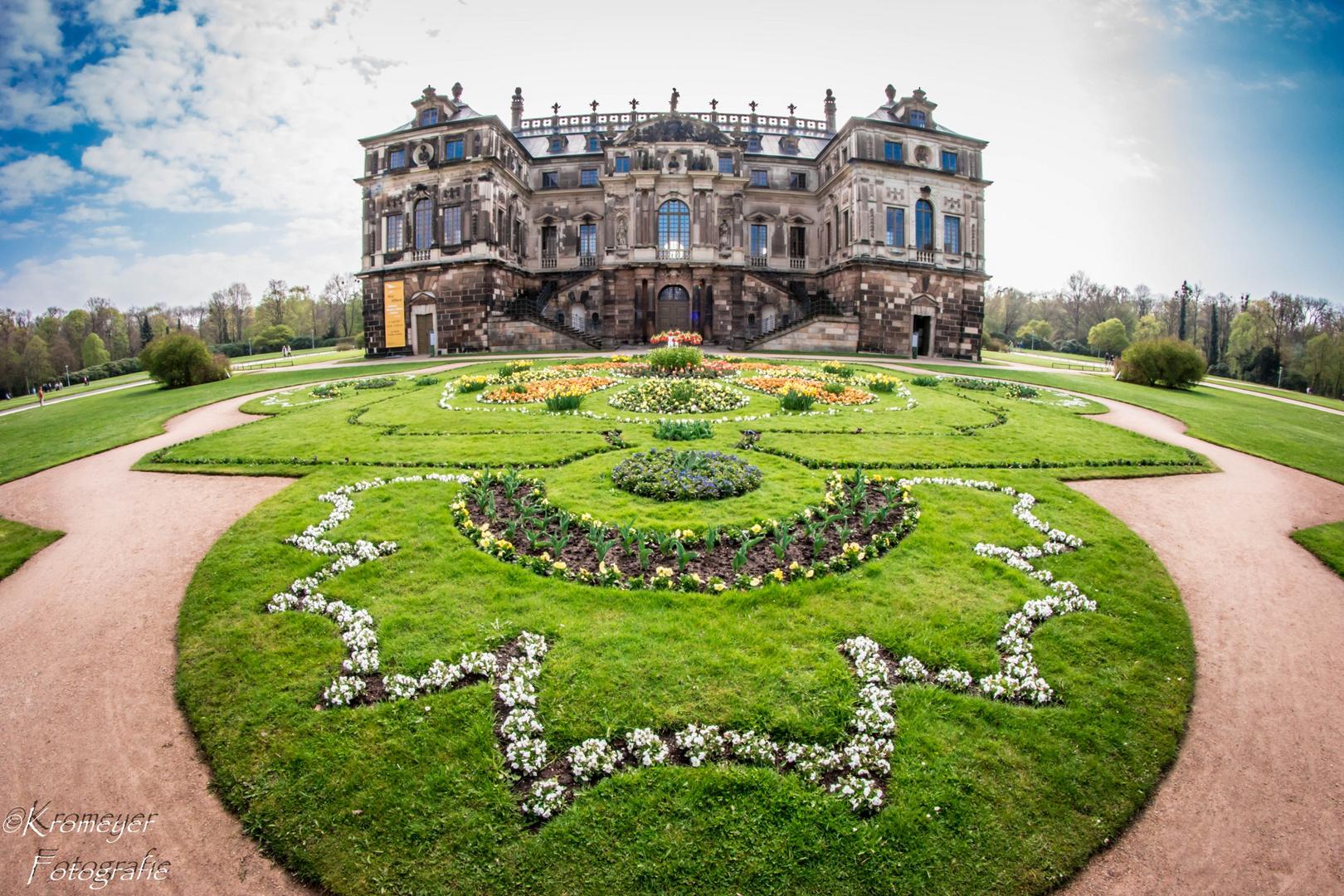 Palais Schloss Großer Garten Dresden Foto Bild Canon Flower