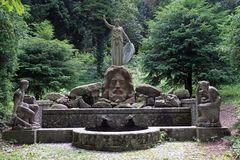 Palas-Athene-Brunnen, Karlshöhe Schtuttgart