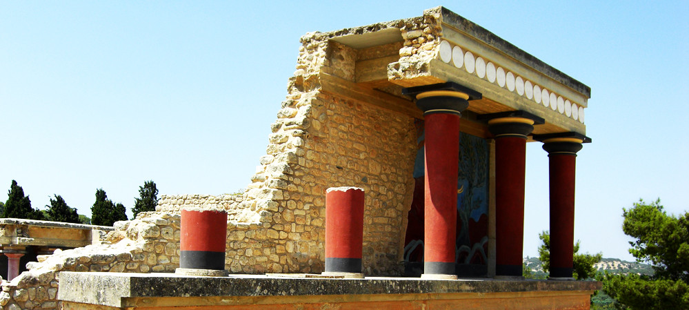Palast Knossos