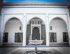 Palast mit blauem colorkey