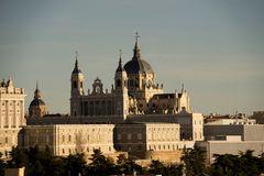 Palast und Kathedrale von Madrid