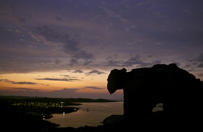 Palau bei Nacht