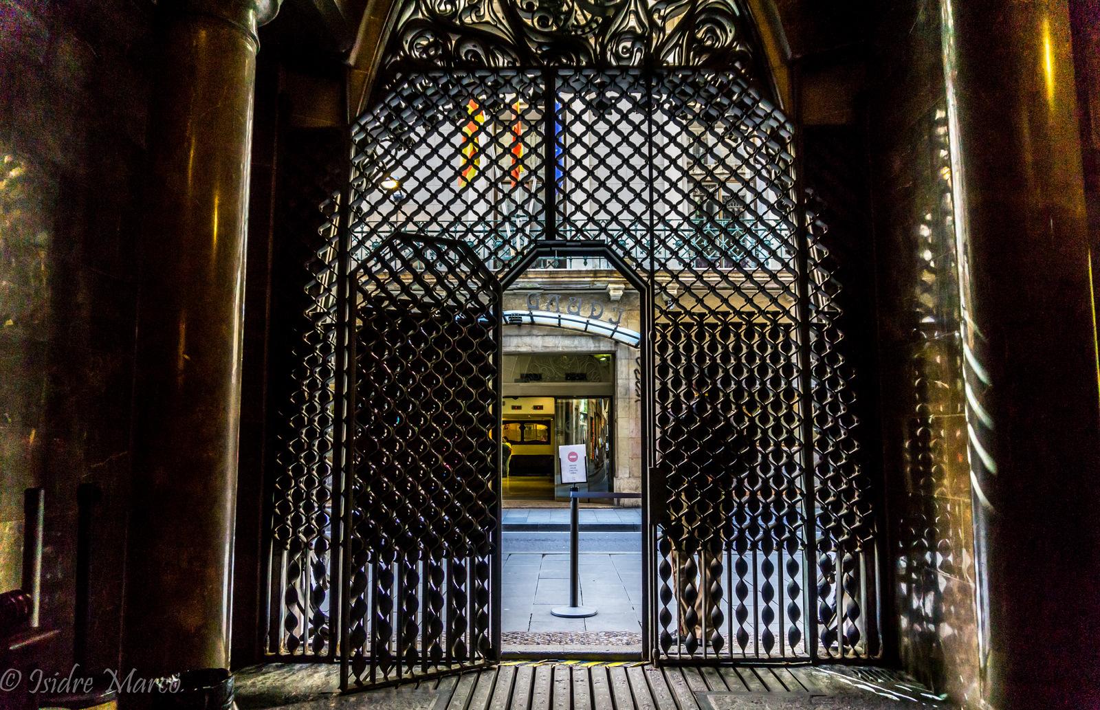 Palau Güell Reixa - Gaudi - Barcelona