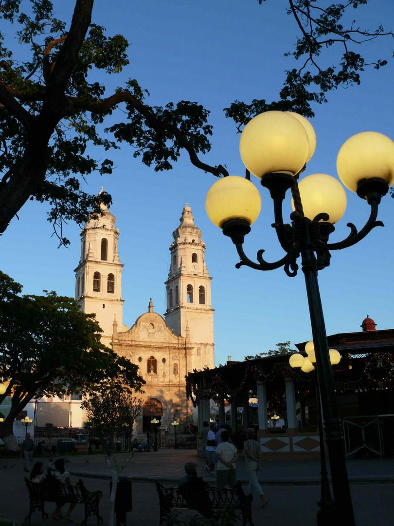 Palenque am Abend / Mexico