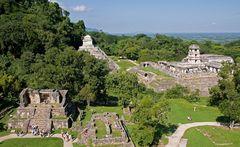 Palenque - Schöne Aussichten