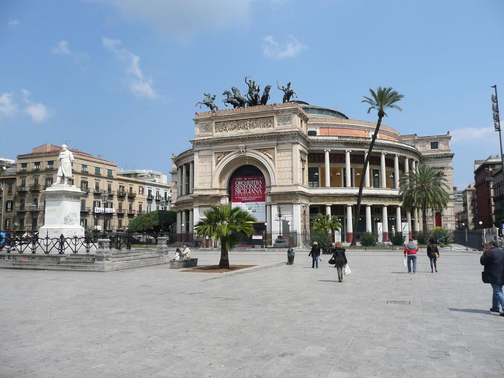 Palermo-Edle Baukunst, ein Augenweide