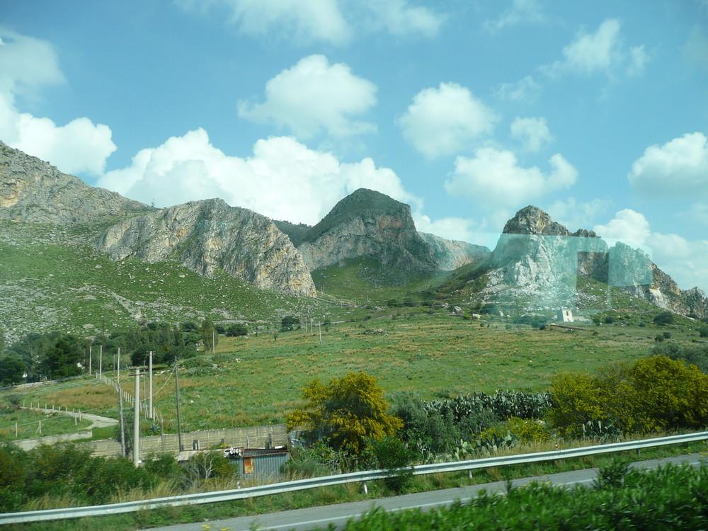 Palermo-Unterwegs nach Trapani....