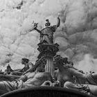 Pallas Athene Brunnen, Parlament in Wien