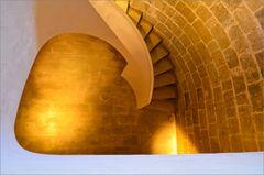 Palma de Mallorca - Castell de Bellver - Treppenhaus