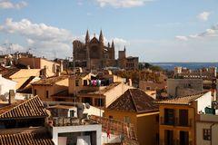 Palma, über den Dächern der Stadt