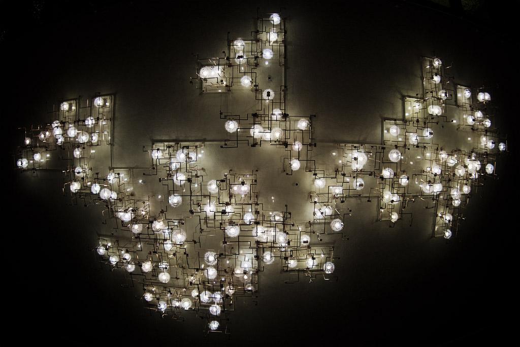 Palmengarten FFM - Luminale 2012 - Pusteblume I