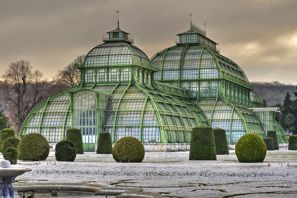 PALMENHAUS im Schlossgarten SCHÖNBRUNN