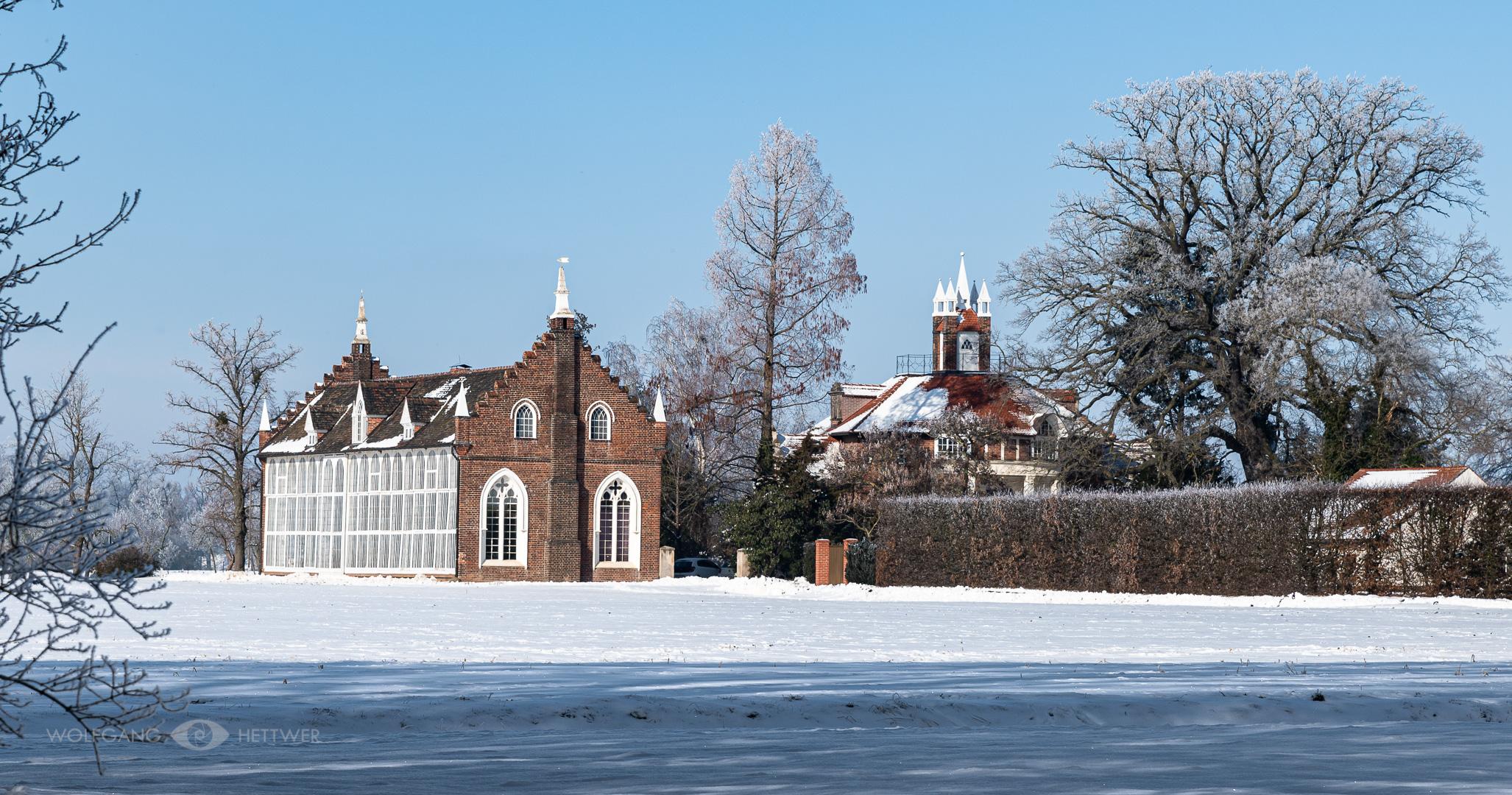 Palmenhaus im Wörlitzer Park