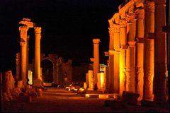 Palmyra bei Nacht