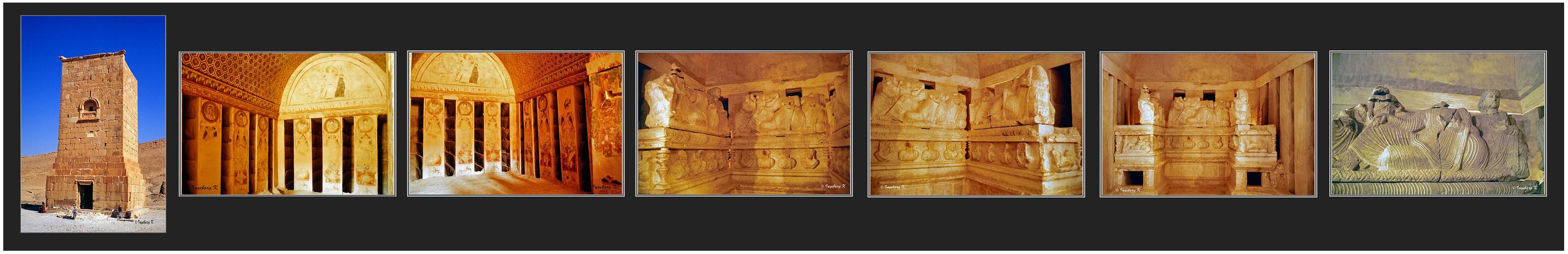 Palmyra - Grabturm -