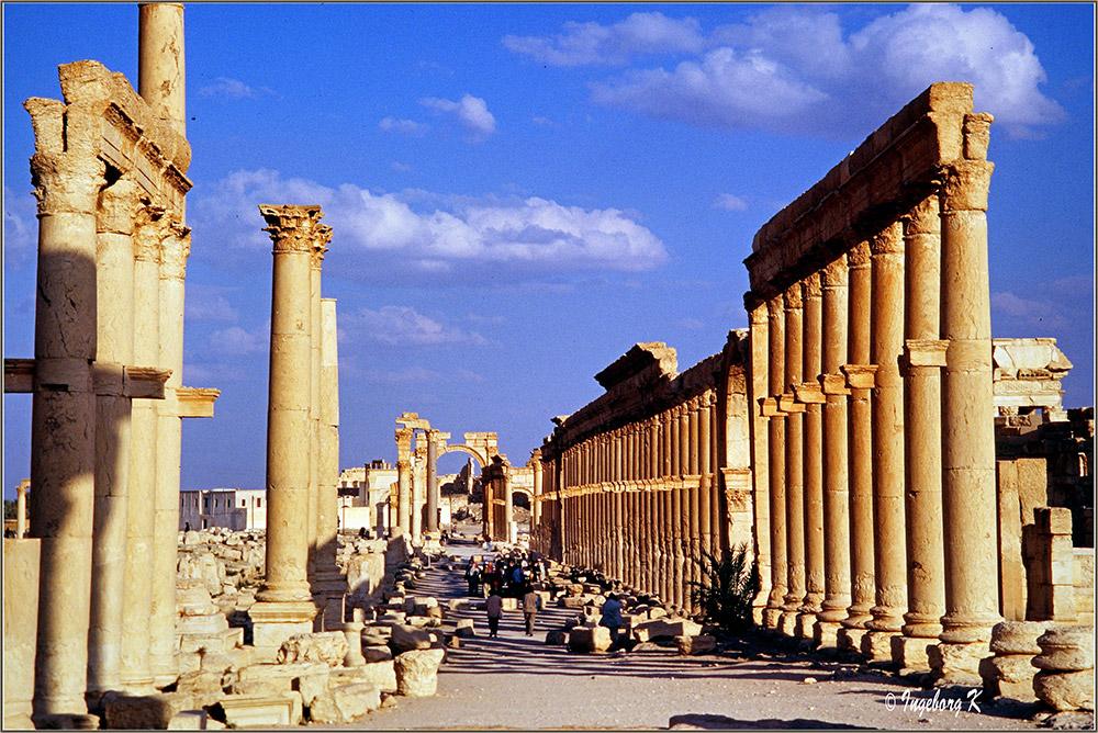 Palmyra - Säulenstraße