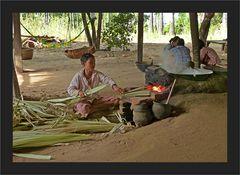 Palmzucker - Verarbeitung