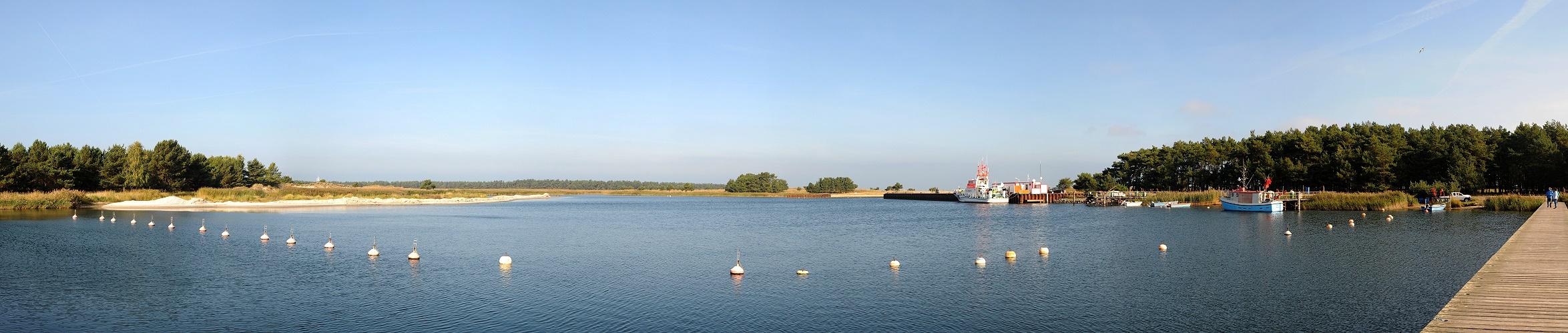 Pano - Alter Militärhafen Prerow