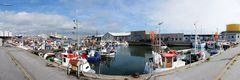 Pano im Hafen Hirtshals
