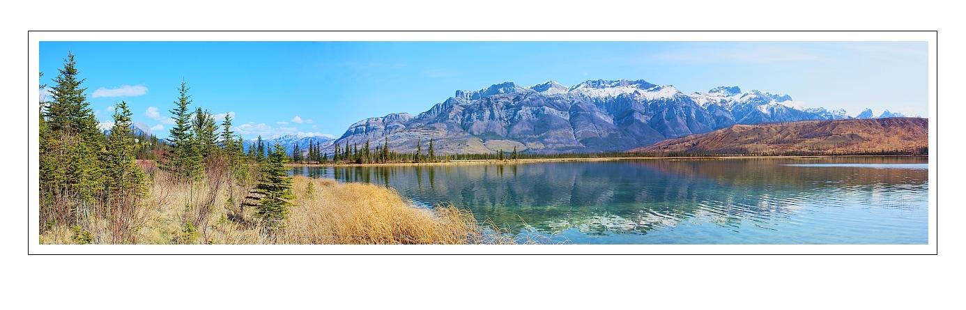 Pano im Jasper National Park