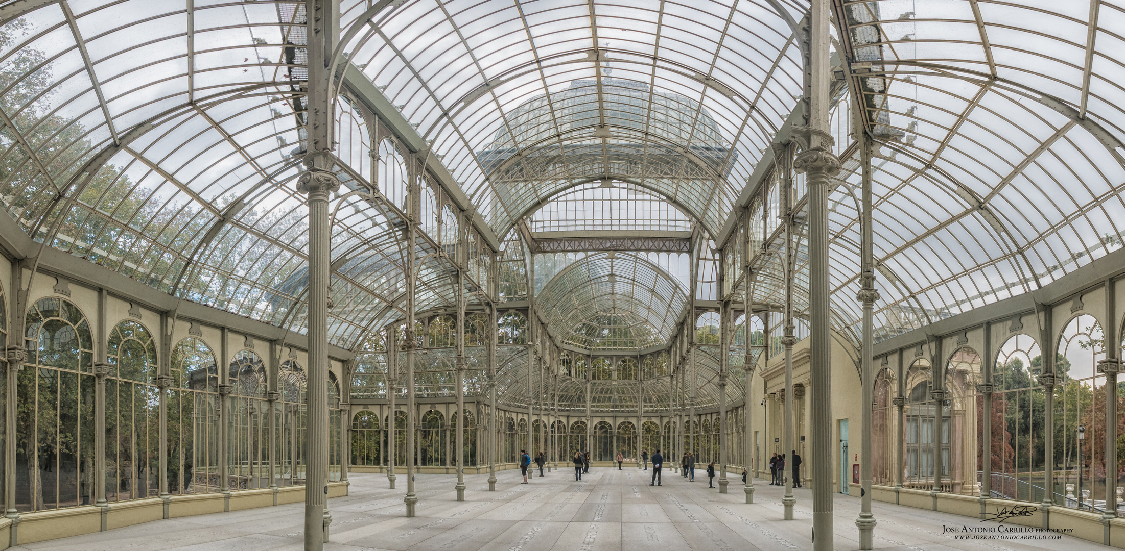 Pano Palacio de Cristal - Retiro- Madrid