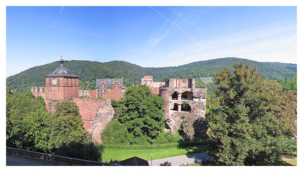 Pano Schloss Heidelberg