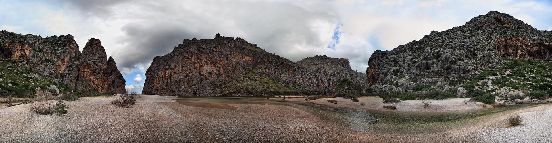 PANORAMA 360 ° - Torrent de Pareis (reload)