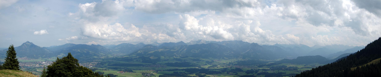 Panorama Allgäu