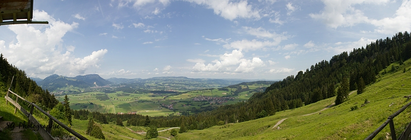 Panorama Alpe Kalkhöfe