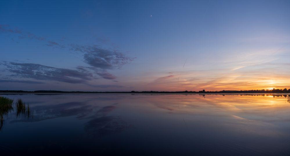 Panorama am Abend