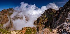 Panorama am Pico do Ariero