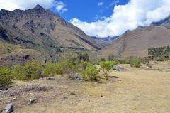 Panorama auf dem klassischen Inka-Trail nach Machu Picchu
