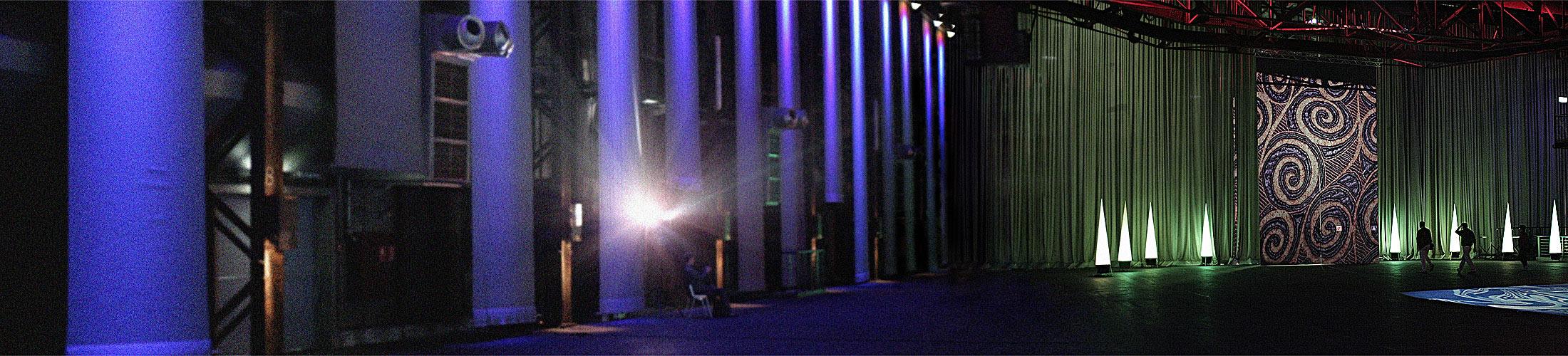 Panorama-Aufnahme der kraftzentrale imLandschaftspark Duisburg-Nord
