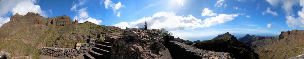 Panorama bei Masca (Teneriffa)