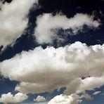 Panorama: bewölkter Himmel