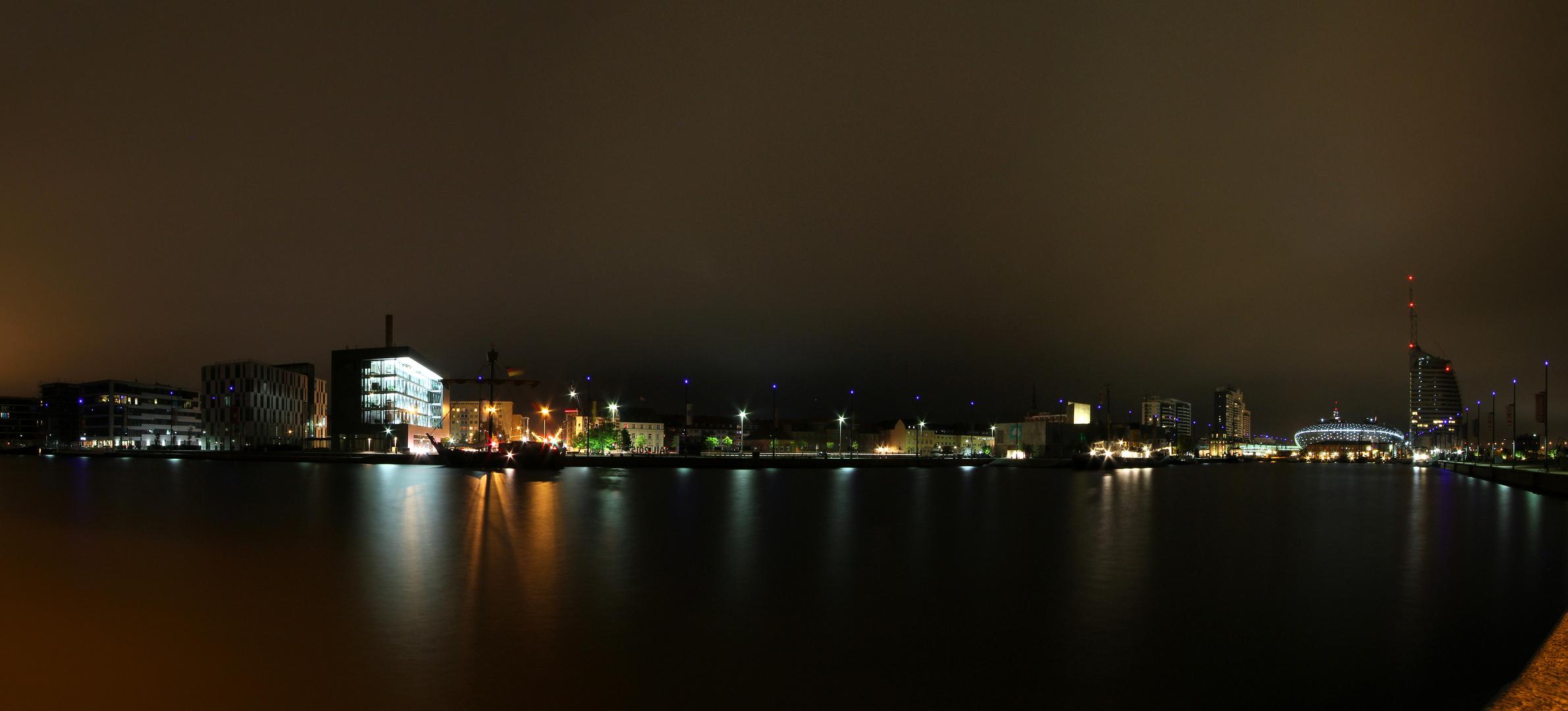 Panorama Bremerhaven