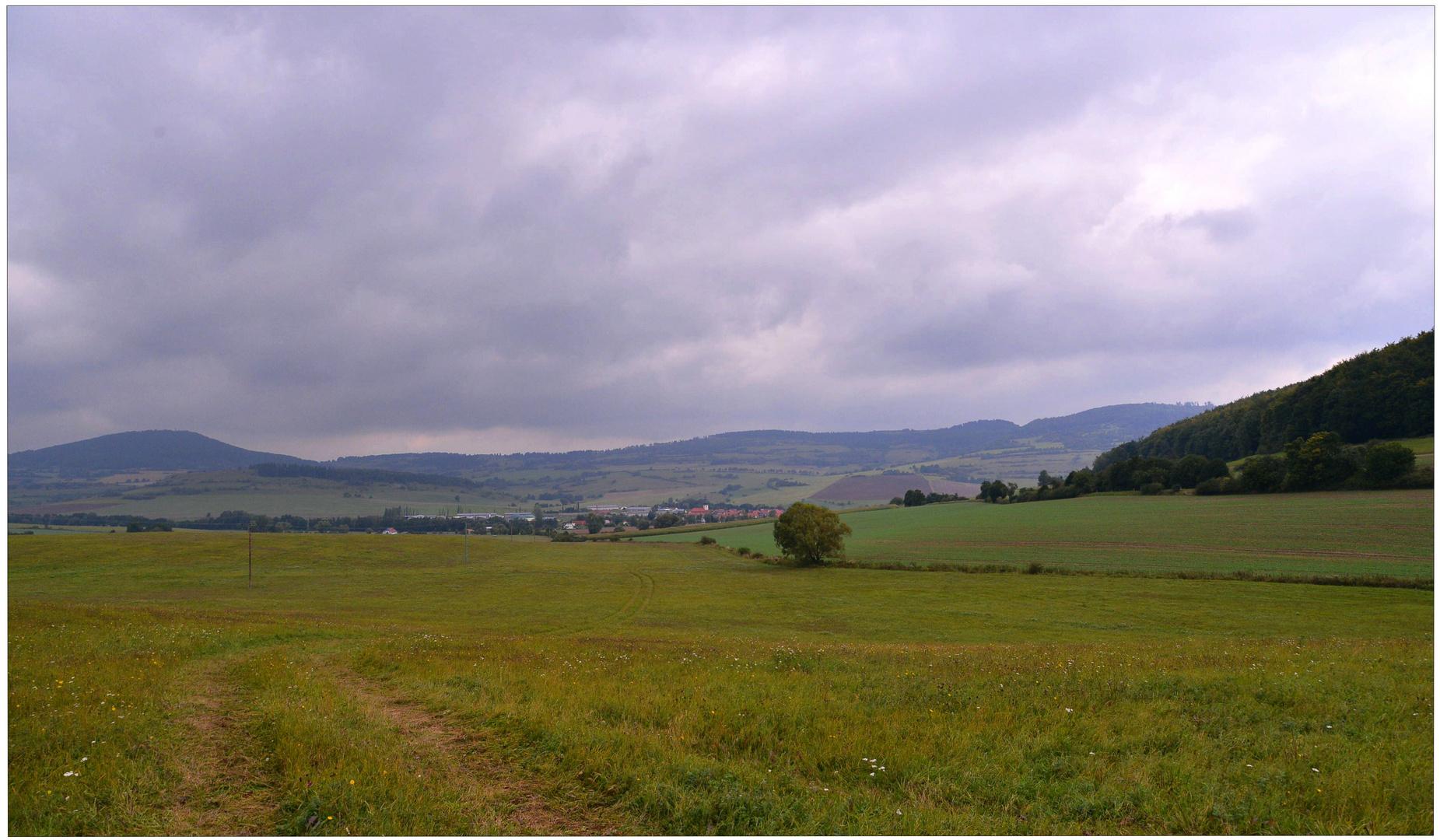 Panorama con vista a mi pueblo (Blick auf mein Dorf)