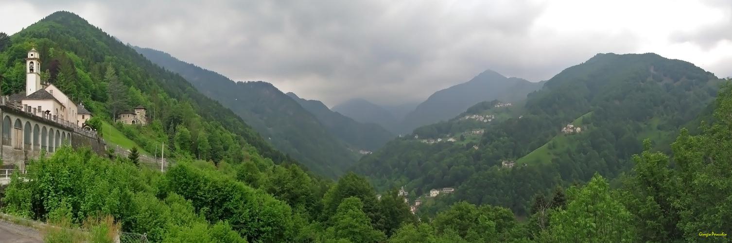 Panorama da Cervatto