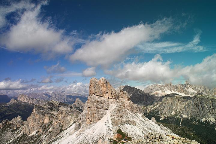 panorama dal rifugio nuvolao